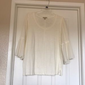 Anthropologie- Bordeaux Blouse